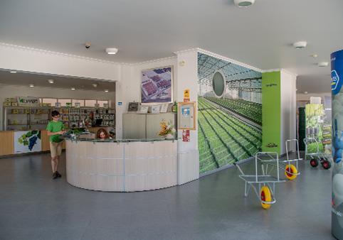 Área comercial da Campoeste